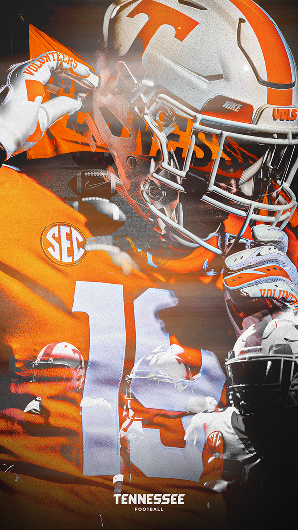 Tennessee Football 2019 on Behance in 2020 Tennessee