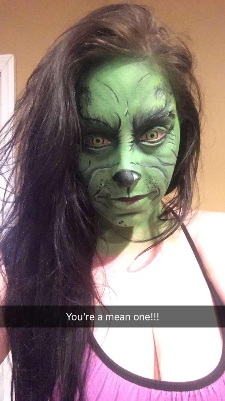 The Grinch Makeup. #thegrinch #jimcarrey #sfx #makeupartist
