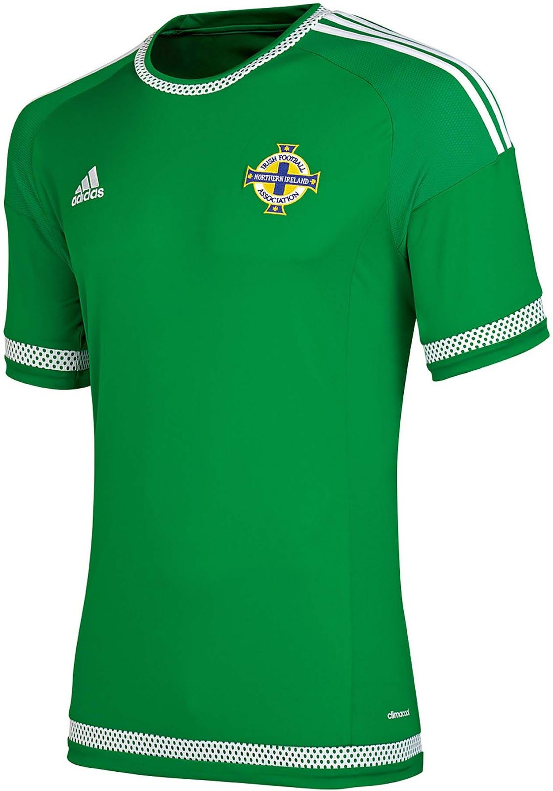 8ad2b51ed Northern Ireland (Irish Football Association) - 2015 Adidas Home Shirt