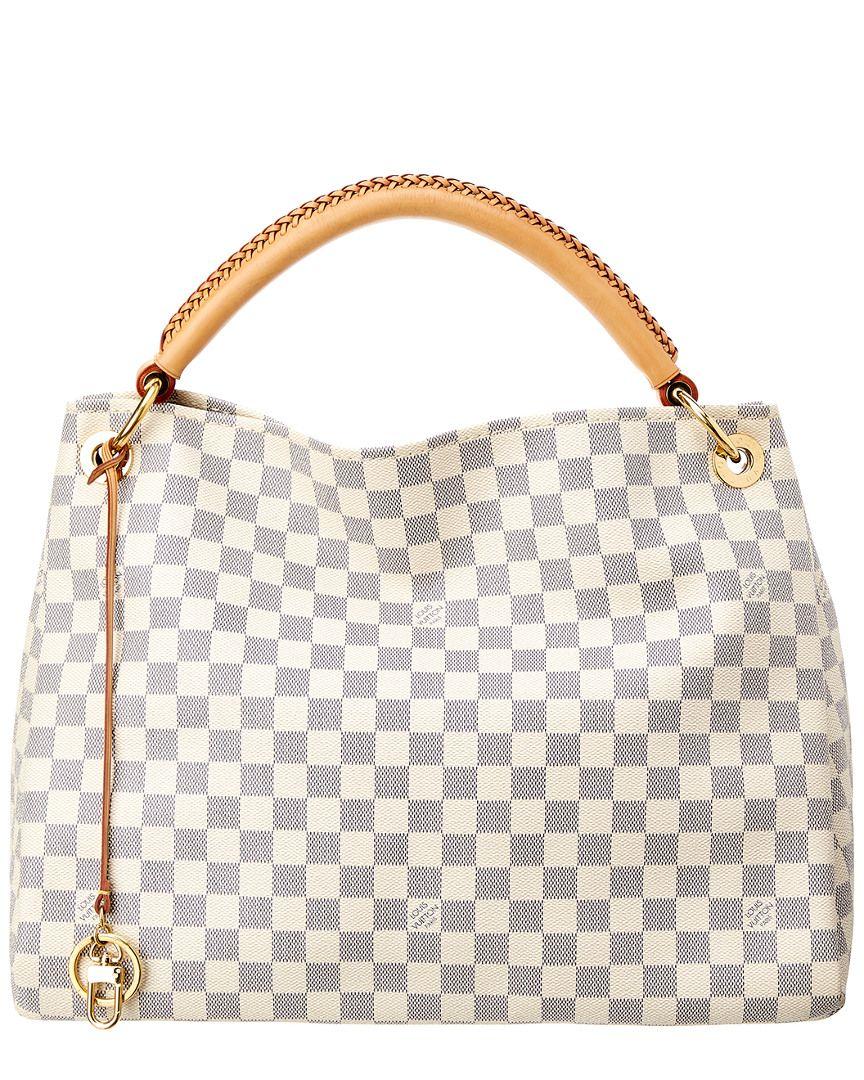 Louis Vuitton Damier Azur Canvas Artsy Mm Nocolor I Want This In
