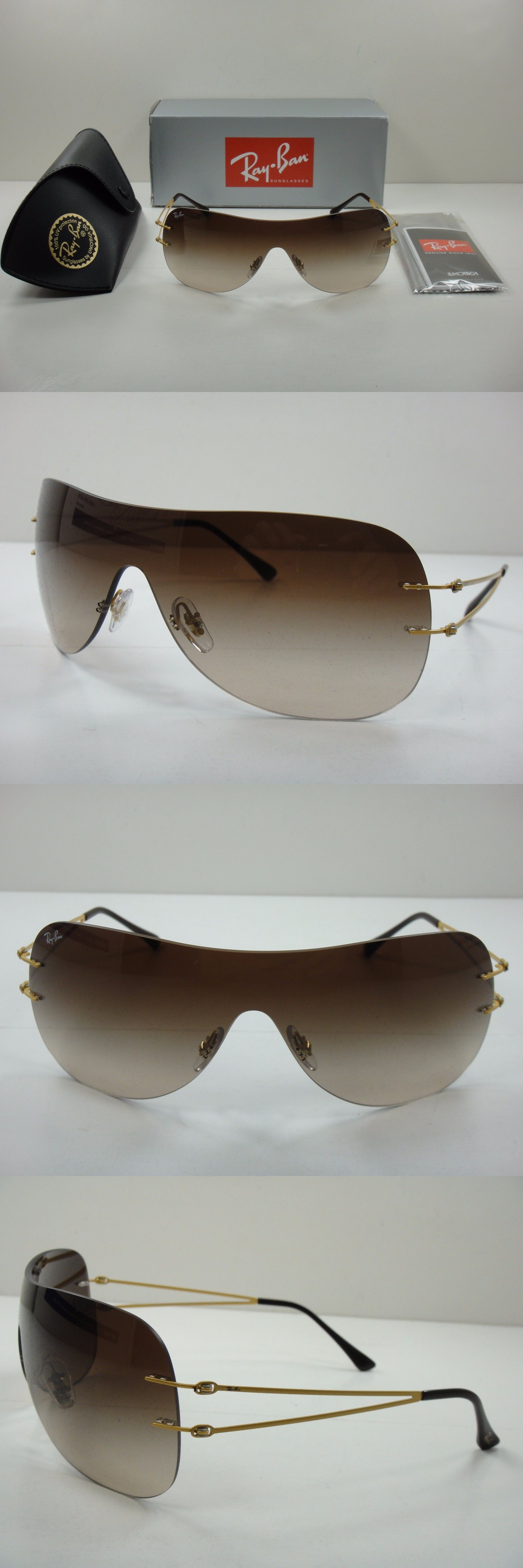 Sunglasses 45246: Ray-Ban Women Sunglasses Rb8057 157 13 Gold Frame ...