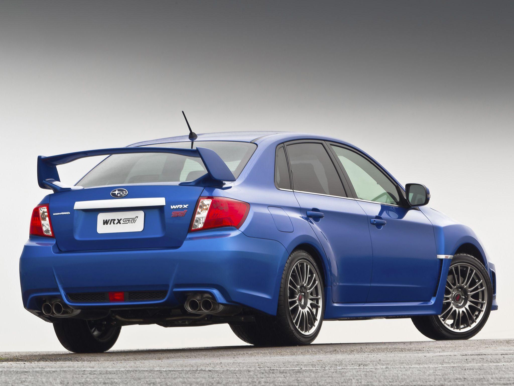 Subaru impreza wrx sti sedan au spec 2010 14
