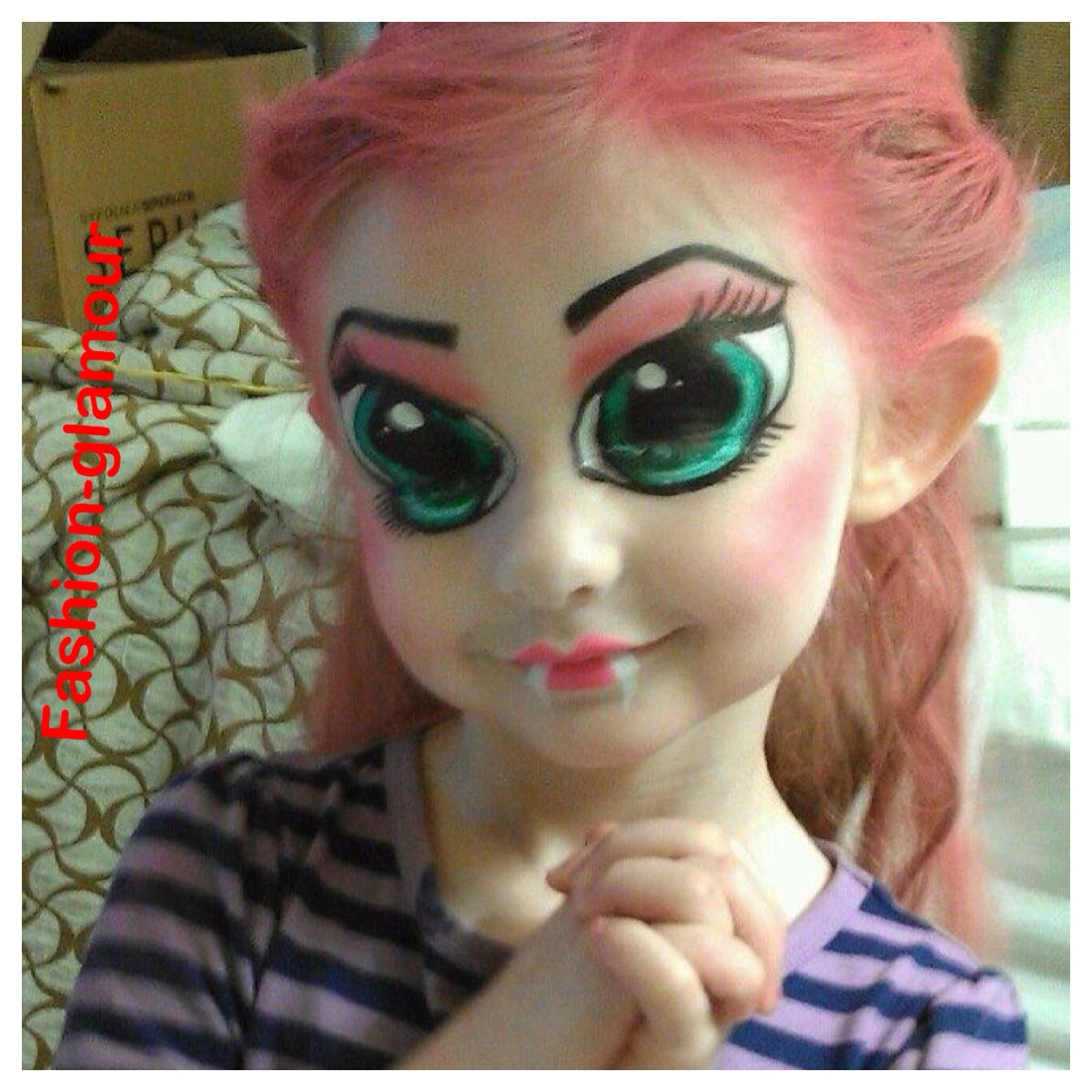 Maquillaje de anime Maquillaje halloween, Maquillaje de ojos