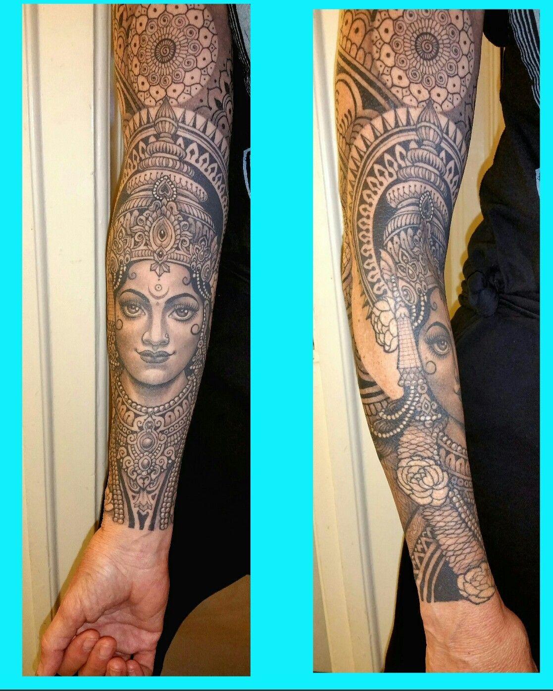 A581511817ad025c66f89199618454f4 Jpg 1 117 1 395 Pixels Sleeve Tattoos Kali Tattoo Hindu Tattoo