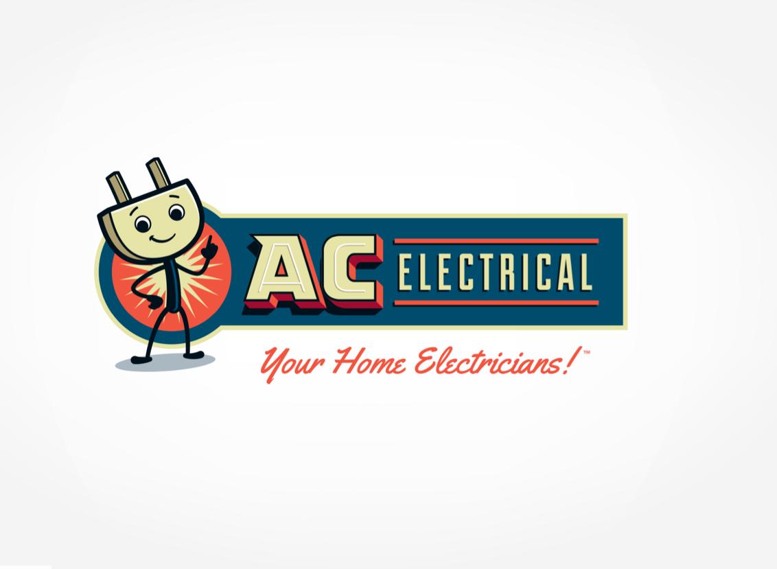 AC Electrical - Retro logo for an electric company. #Retro #branding ...