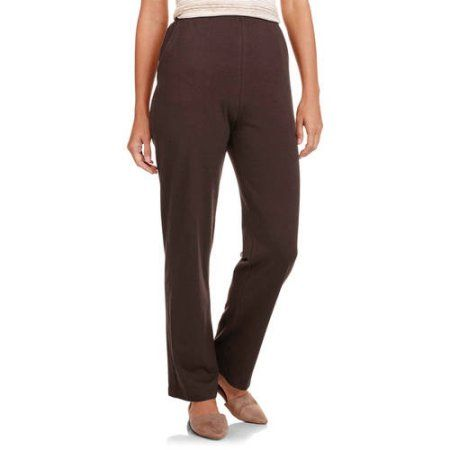 9560a0c0b73cd White Stag Women s Knit Pull-On Pant available in Regular and Petite ...