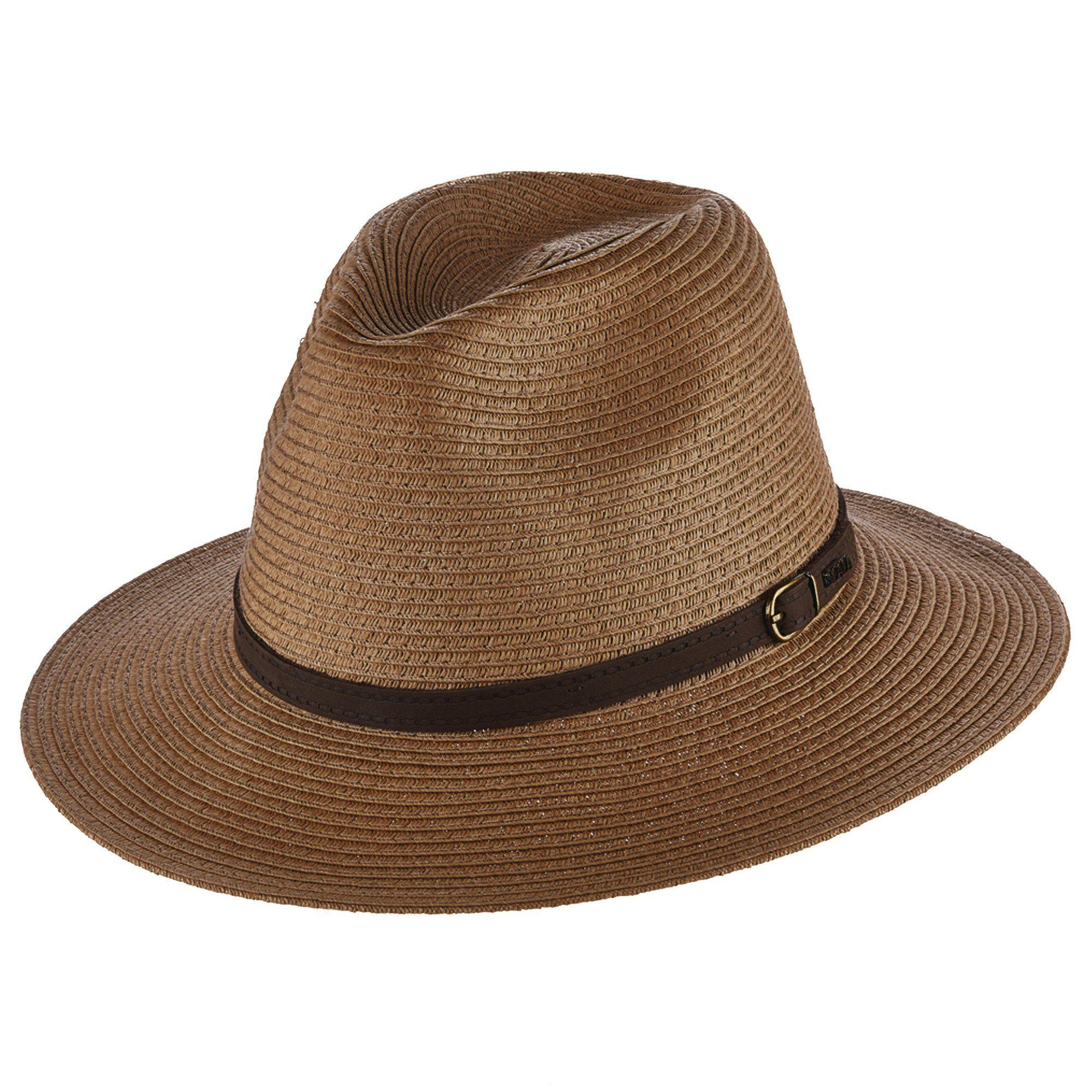 2b039f91946413 Scala's paper braid safari style hat. Flat brim, 2