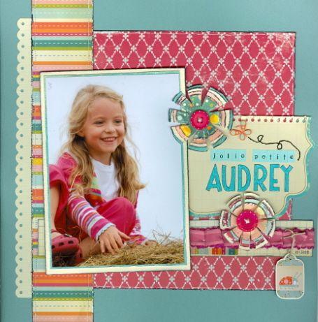 Jolie petite Audrey - Scrapjazz.com
