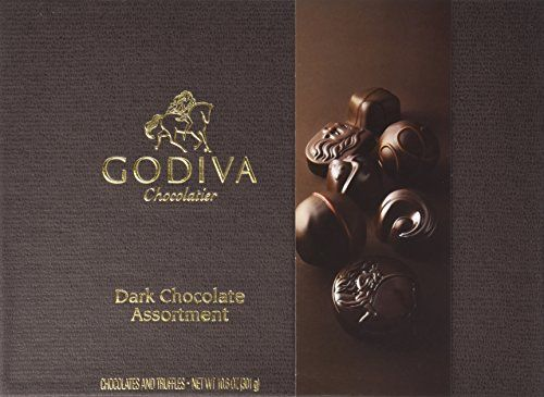 GODIVA Chocolatier 27 pc. Dark Chocolate Gift Box - Classic GODIVA Chocolatier http://www.amazon.com/dp/B00F03EOK4/ref=cm_sw_r_pi_dp_1aTUwb058WYDV