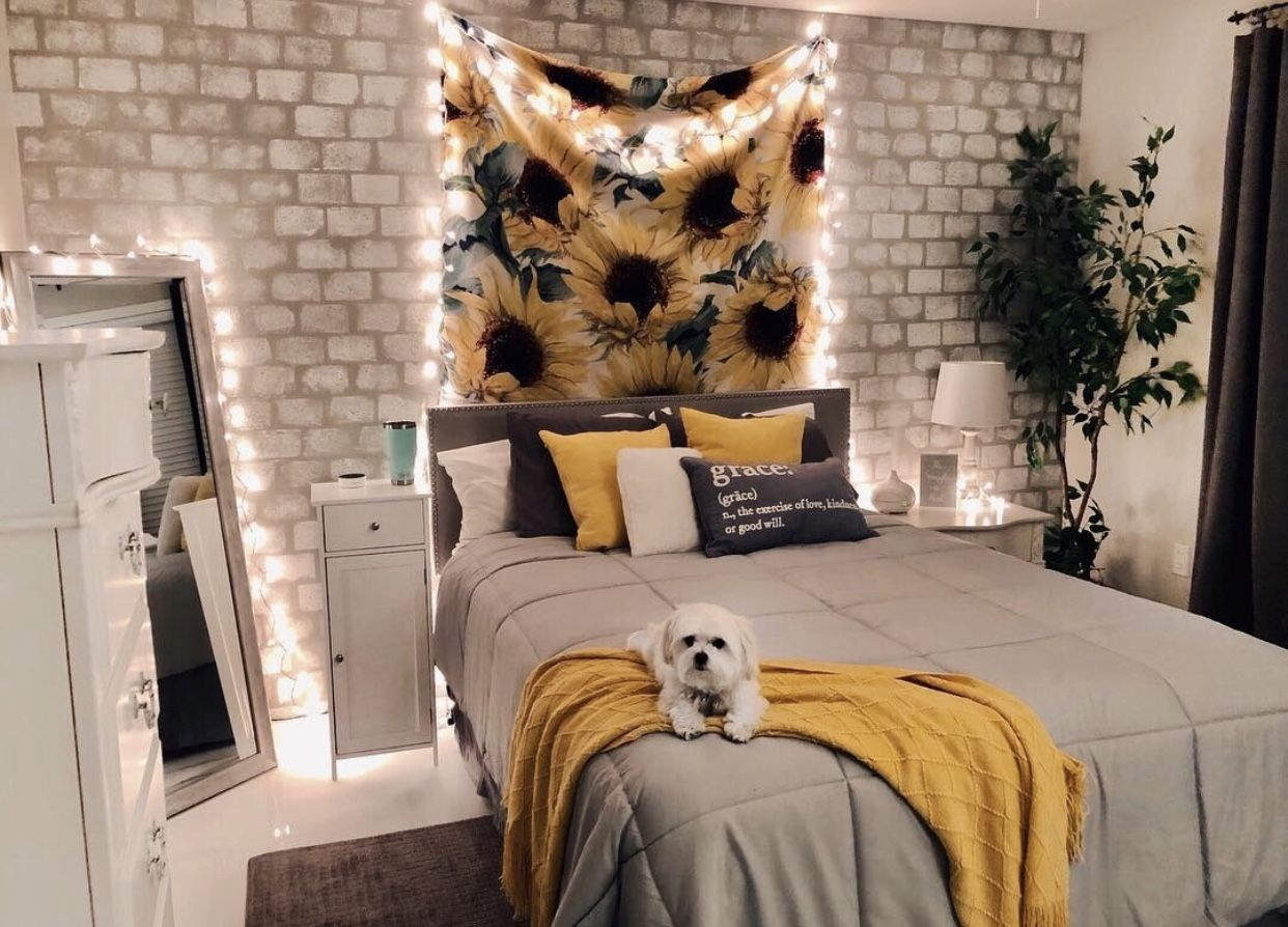 Yellow Gray Inspo Yellow Room Decor Aesthetic Bedroom Yellow Bedroom Decor