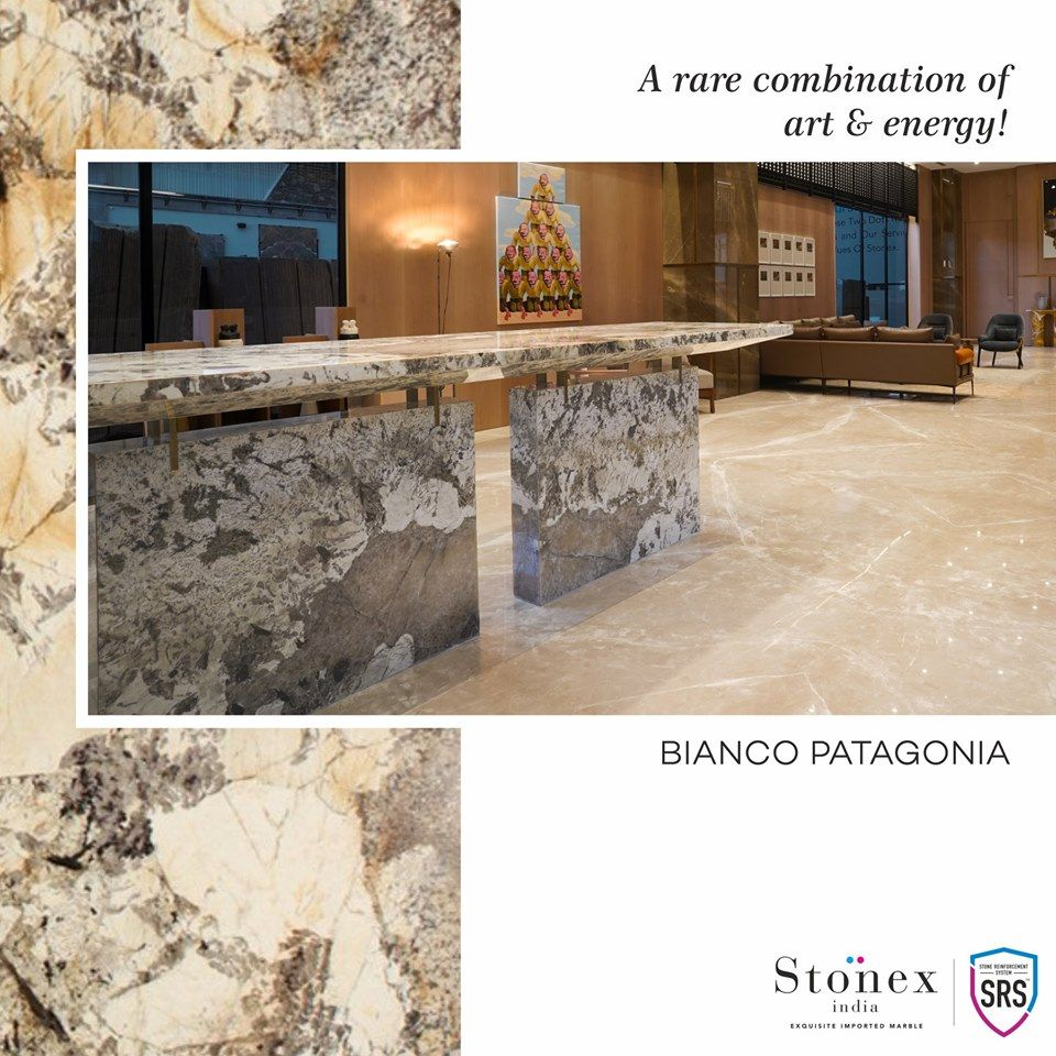 Bianco Patagonia Marble Design Beautiful Homes House Styles