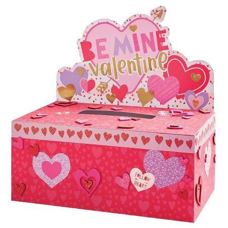 Valentineu0027s Day Mailbox Decorating Kit Hearts   Spritz™ : Target