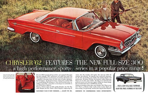 Chrysler advertisement.