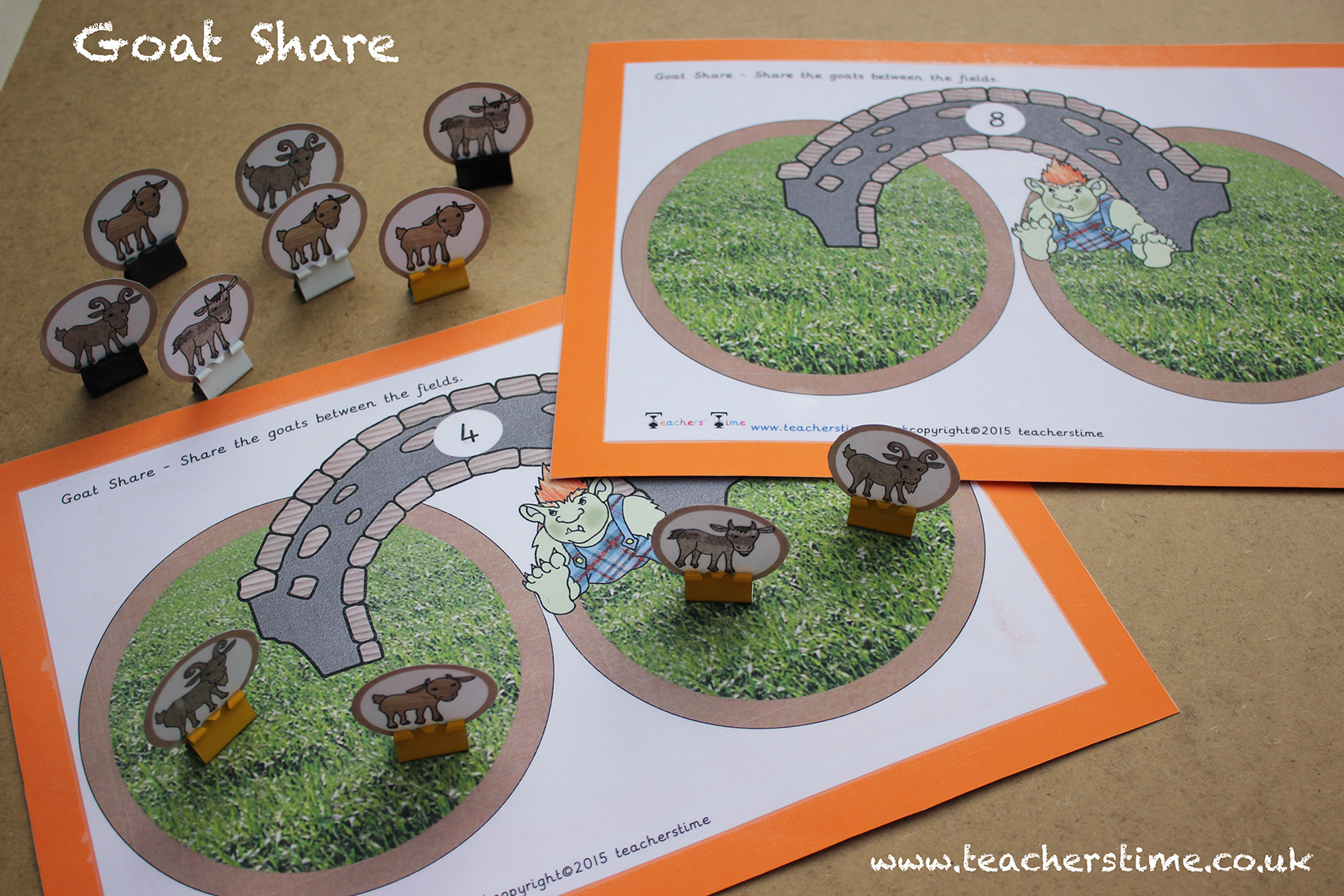 Pin By Teachers Time On Three Billy Goats Gruff Resources