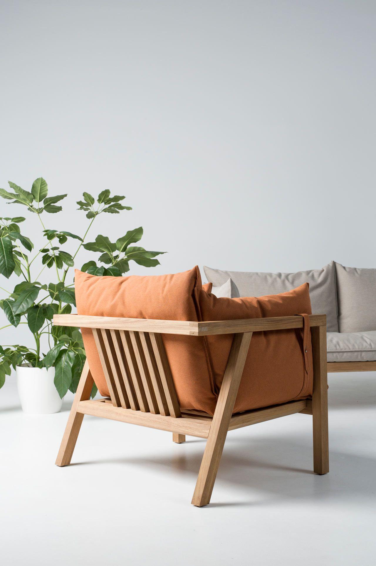 Umomoku: A Comfortable Outdoor Furniture Collection Designed for Lounging - Design Milk