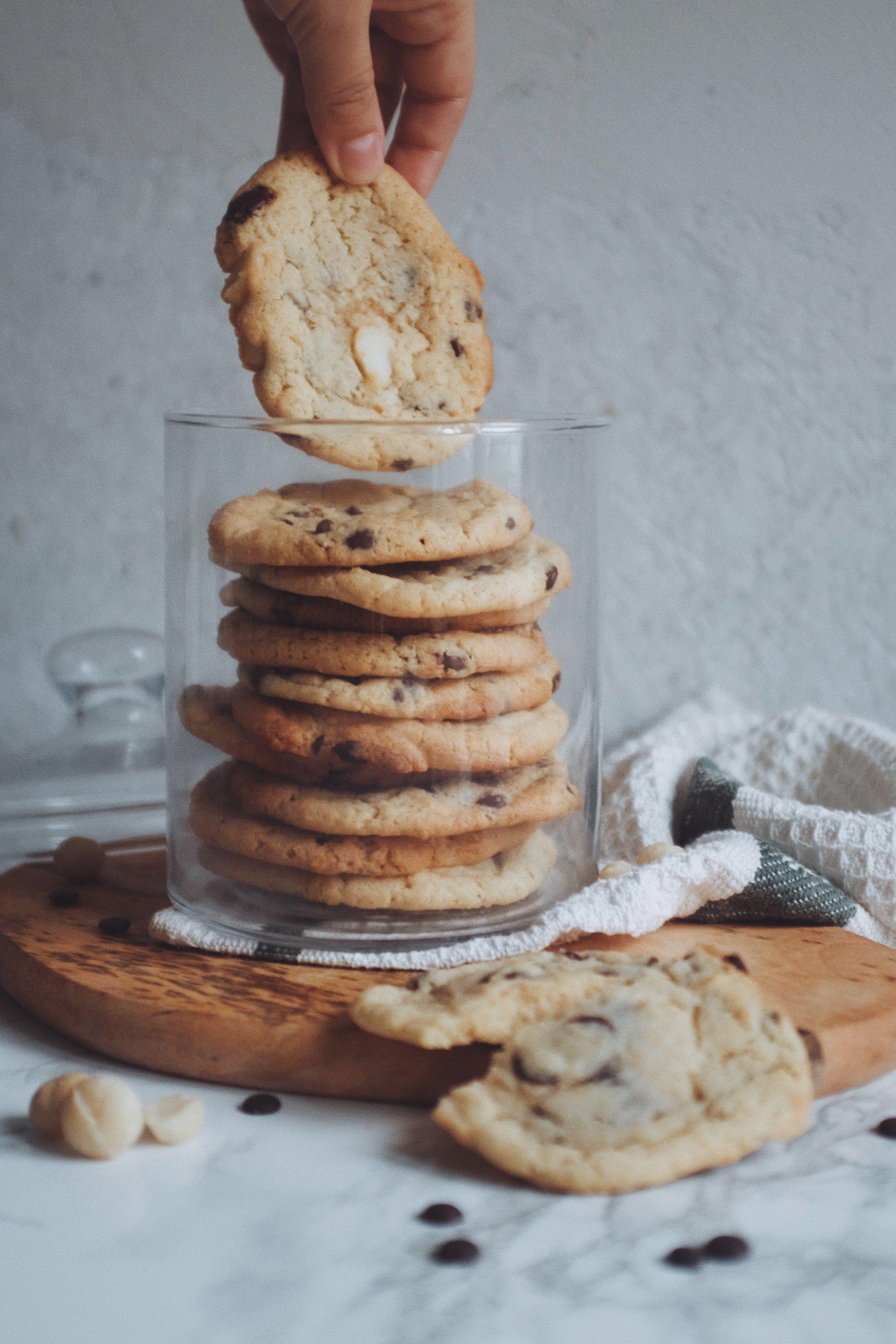 Cookies wie von Subway - einfach, schnell und lecker