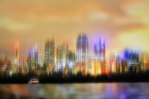 NIGHT LIGHTS -- PLANET EARTH URBAN LANDSCAPES group