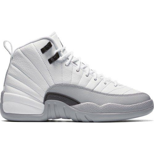 new product c7063 828ab ... netherlands nike air jordan retro xii 12 gg baron white wolf grey  510815108 gs 4 find