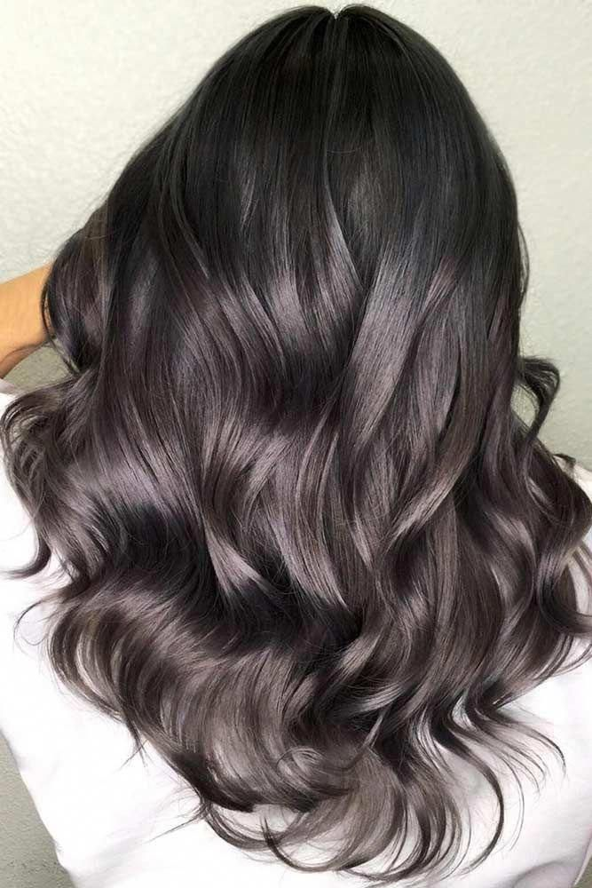 Hair Color 2017 2018 Cold Tones For Your Dark Hair Brunette Highlights In 2020 Hair Highlights Brunette Hair With Highlights Brown Blonde Hair