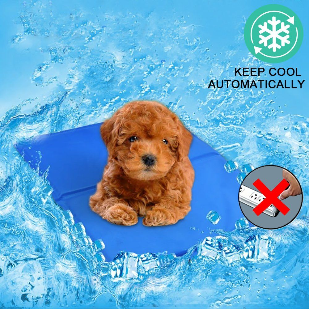 Pet Cooling Mat For Dogs And Cats Self Cooling Pad S M L Available