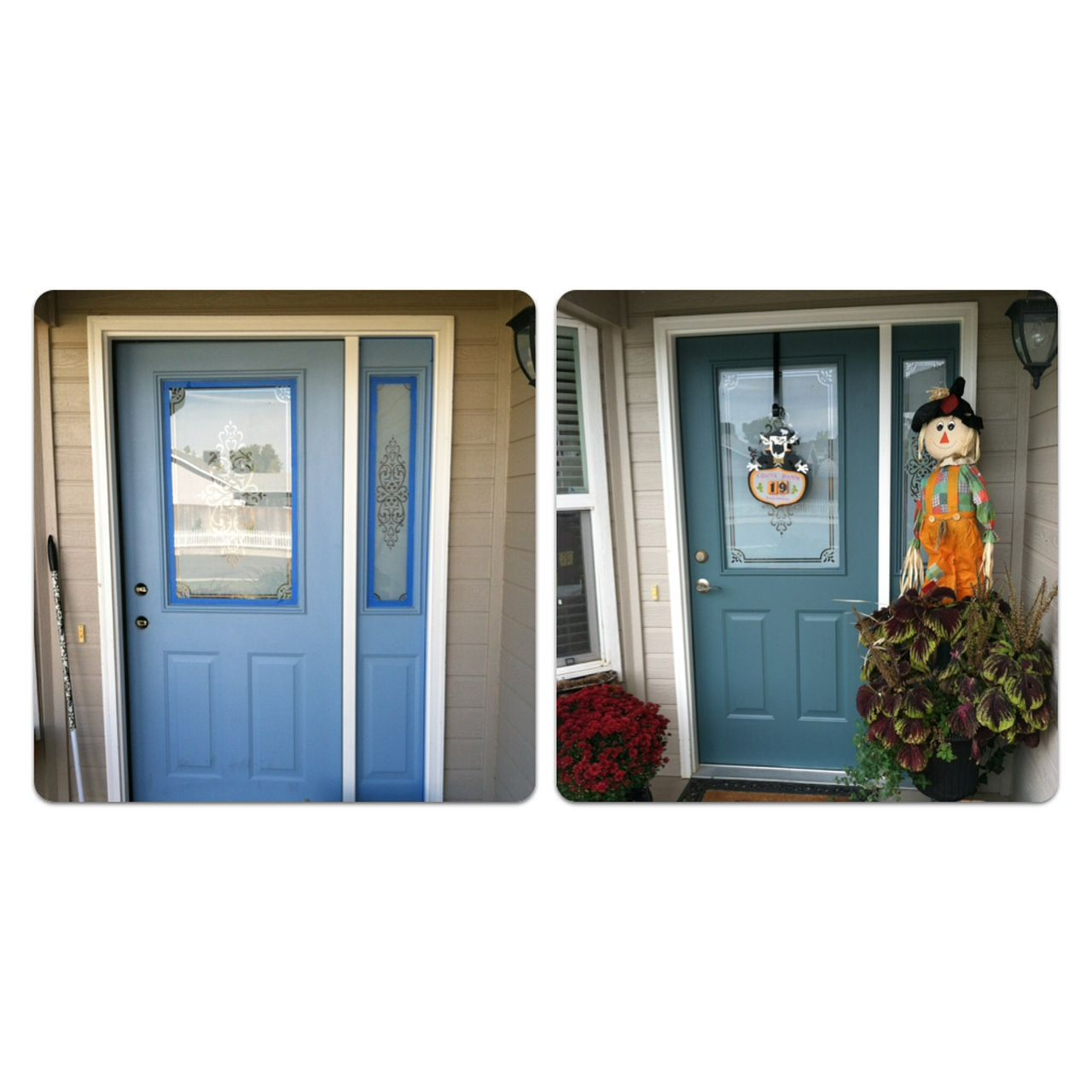 From Aerospace Blue To Sherwin Williams Riverway For The Home Pinterest Painting Front
