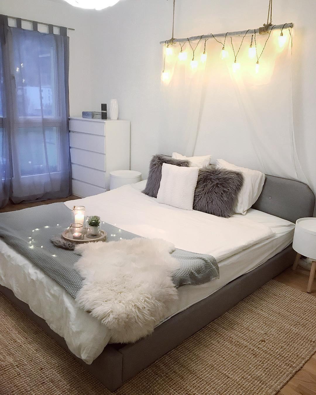 bedroom goals in diesem traumhaften schlafzimmer sind s e tr ume vorprogrammiert. Black Bedroom Furniture Sets. Home Design Ideas