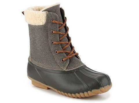 Sporto Dakota Duck Boot | Boots, Dsw