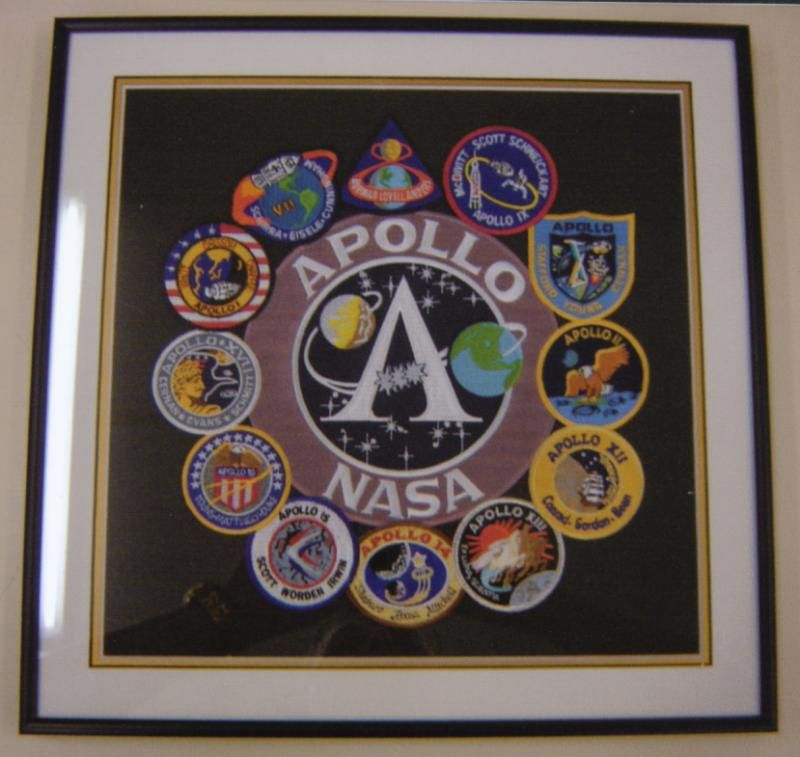 NASA: Apollo Badges | Examples | Custom Framing | Pictures Frames ...