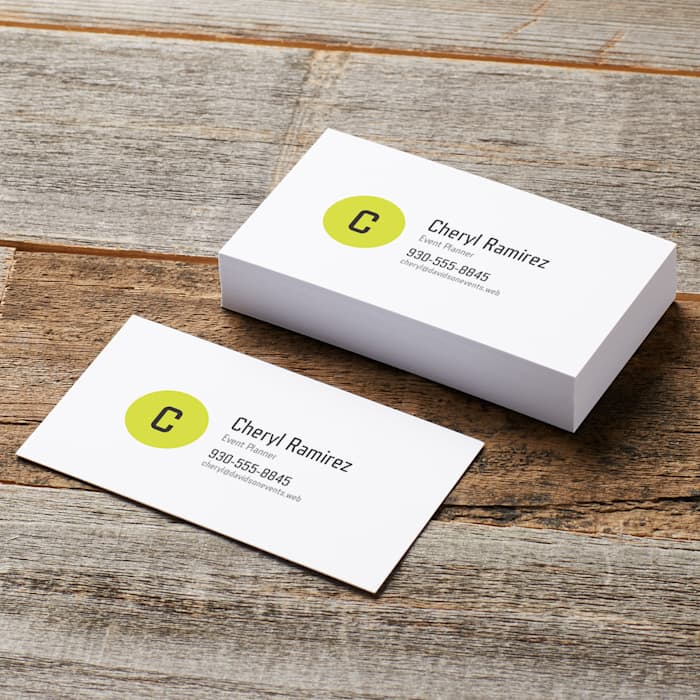 Natural Uncoated Business Cards Vistaprint Business Cards Natural Uncoat Event Planning Business Cards Event Planner Business Card Event Planning Business