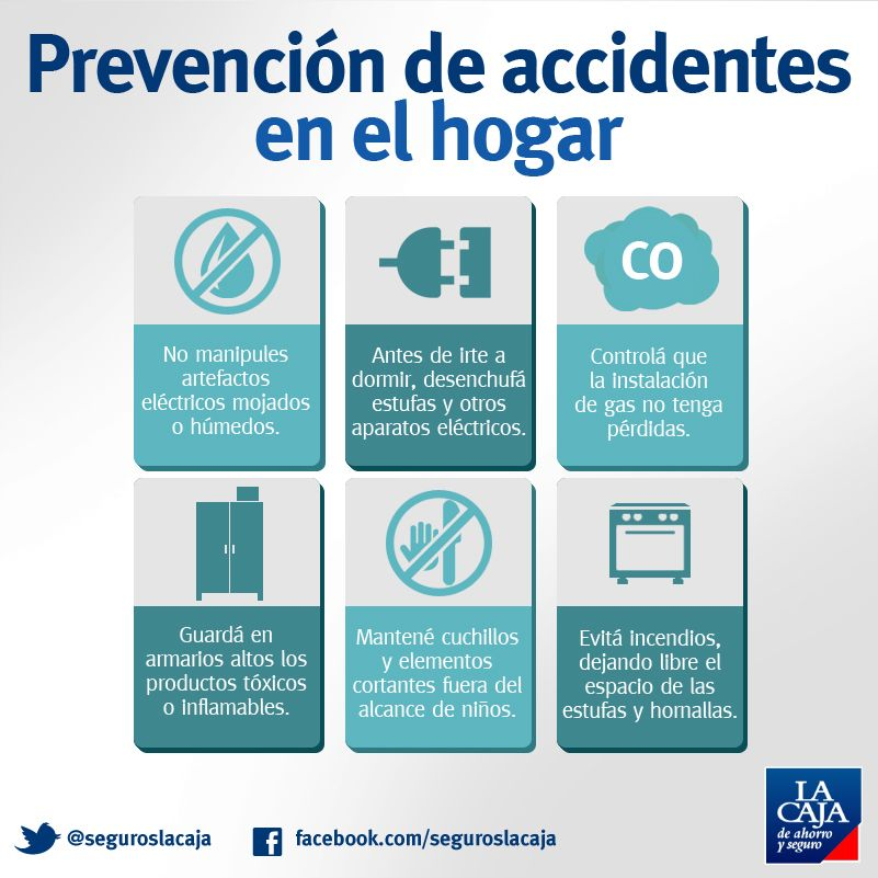 Te mostramos ocho consejos vitales para evitar accidentes en el hogar infografia prevencion - Trabajos caseros para hacer en casa ...