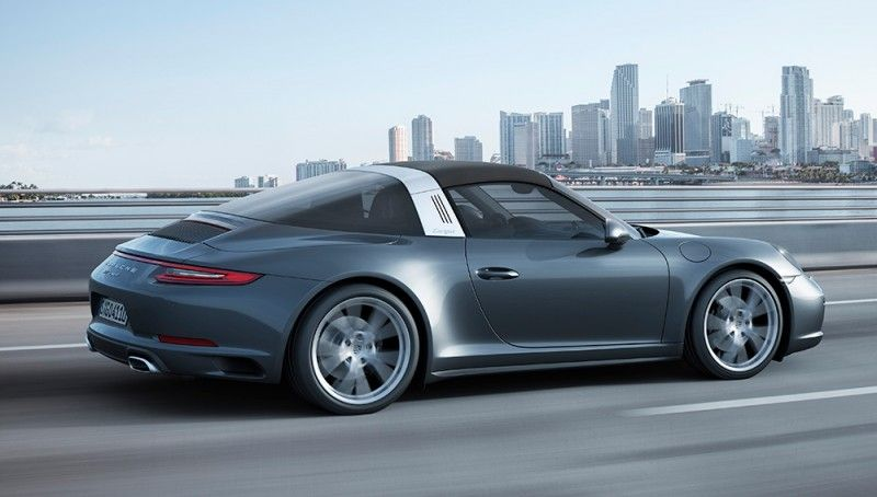 The 2017 Porsche 911 Carrera and Targa Forgo Naturally Aspirated Engines   Automobiles