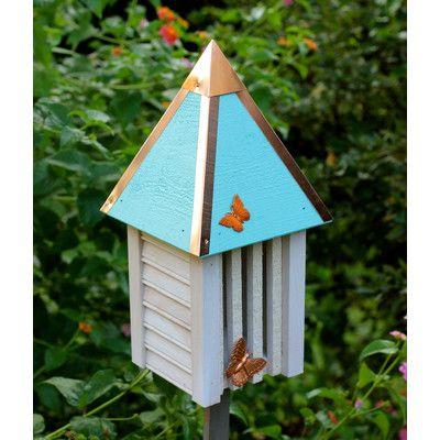 Best Heartwood Flutterbye 15 In X 7 In X 7 In Butterfly House 400 x 300