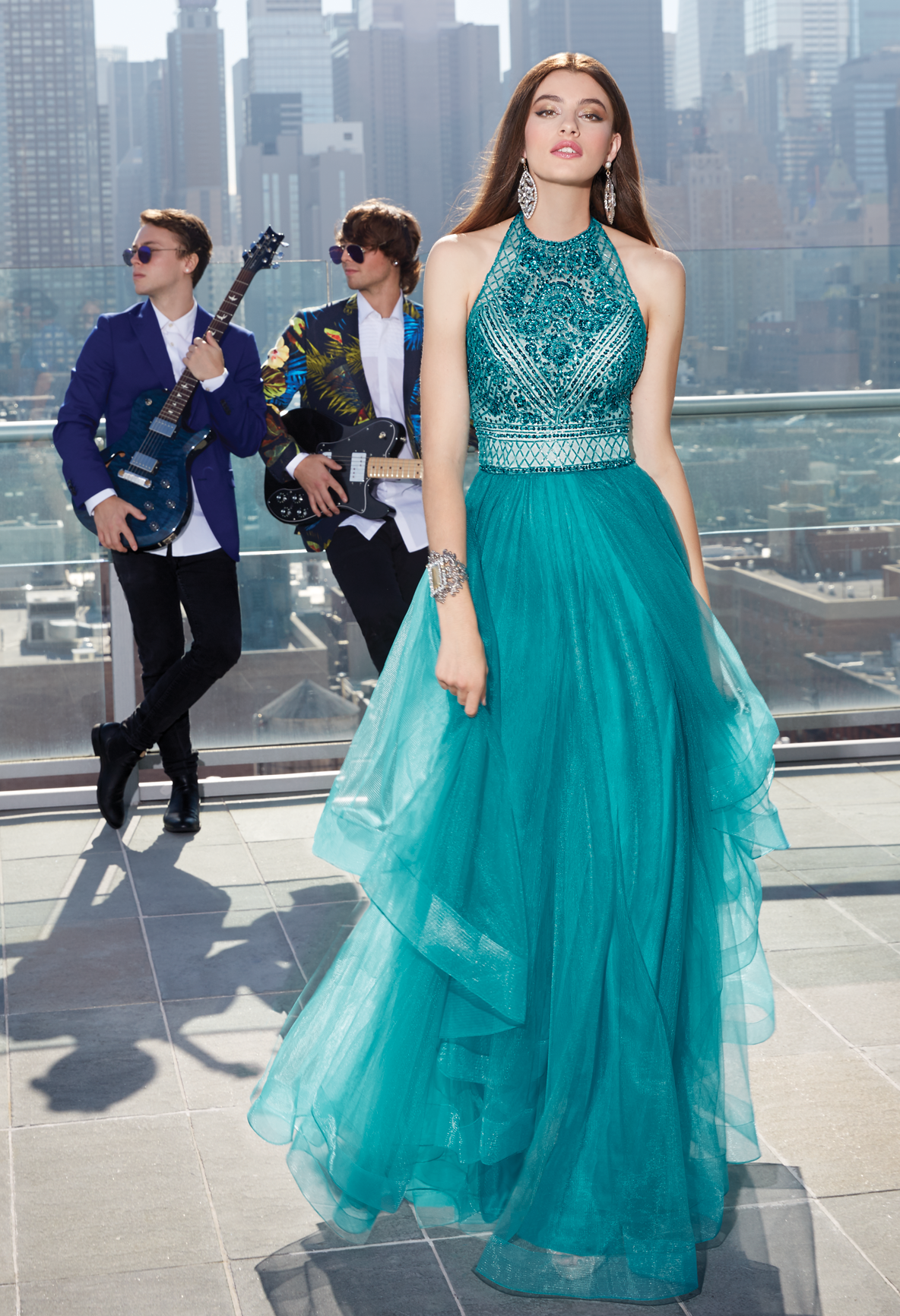 This phenomenal ball gown dress is truly one of a kind according to ...