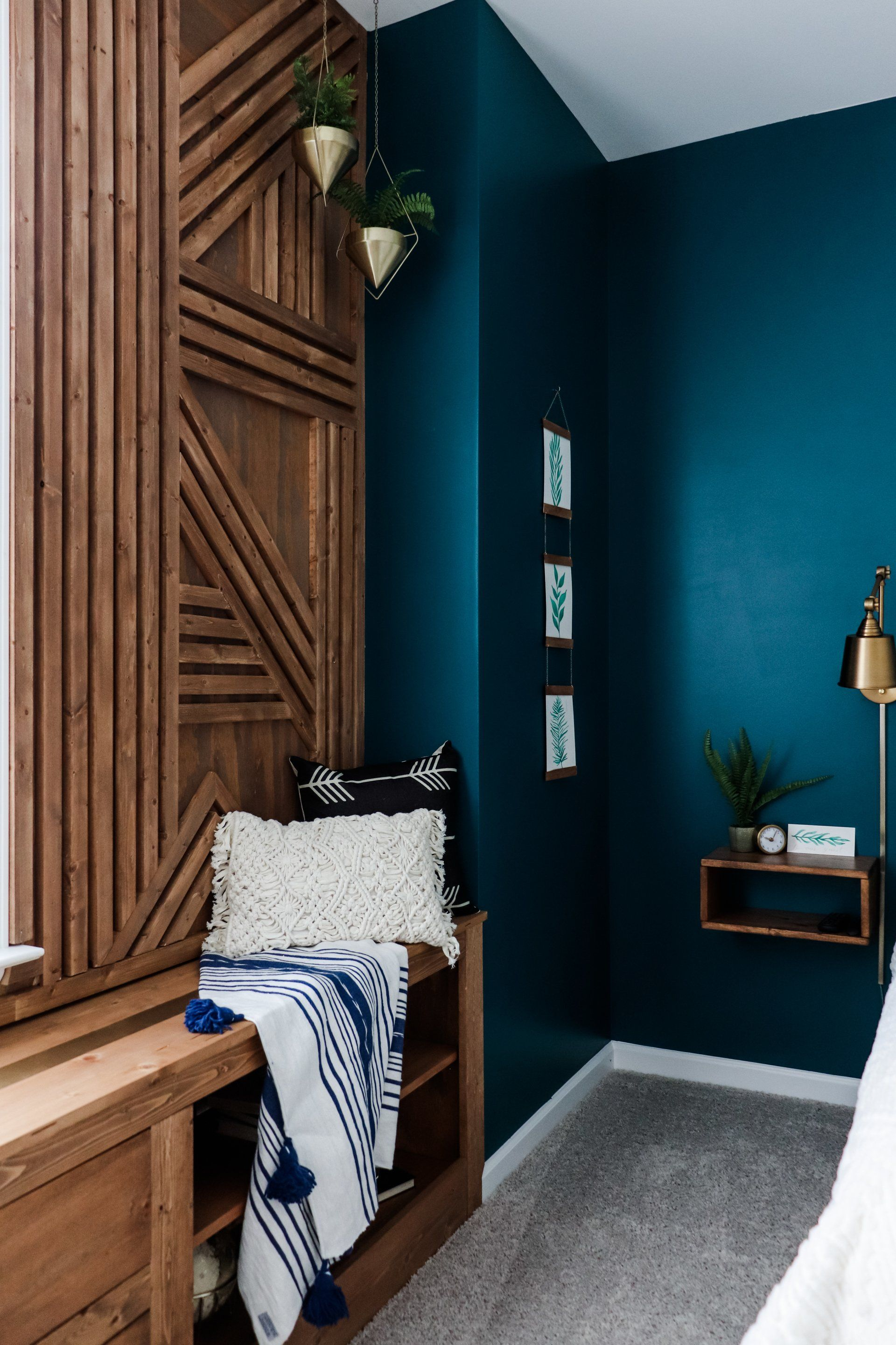 From classic board and batten to geometric accent walls utilizing unique materials, we rounded-up the 10 best accent wall ideas to spark your imagination.