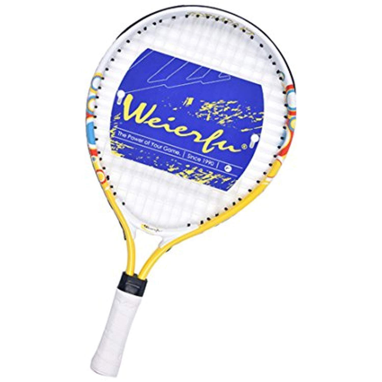 Weierfu Junior Tennis Racket For Kids Toddlers Starter Racket 17 21 With Cover Bag Light Weight Strung More Info Could Be Fou Tennis Racket Tennis Rackets
