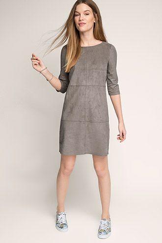 Esprit / Velours Kleid | Kleider damen, Kleider, Damenkleider