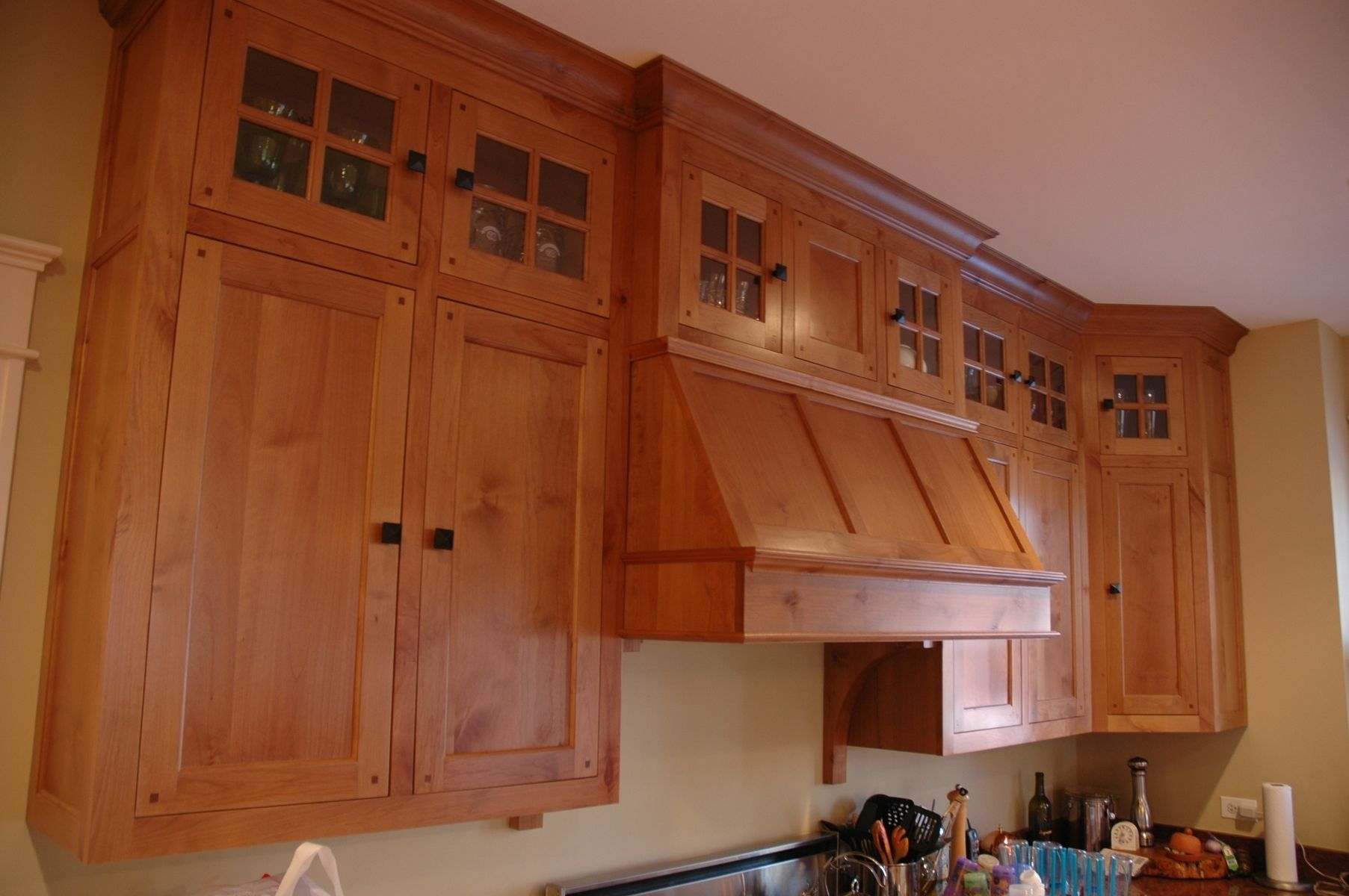 Arts And Crafts Range Hoods Google Search Mission Style Kitchen Cabinets Kitchen Craft Cabinets Mission Style Kitchens