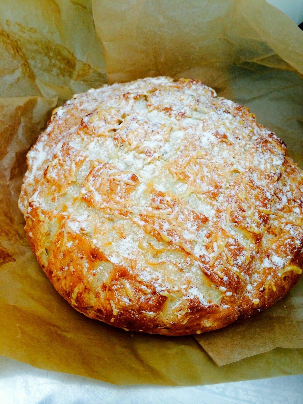 Hertsun elämää: Herkullinen Juustoleipä - Cheese bread