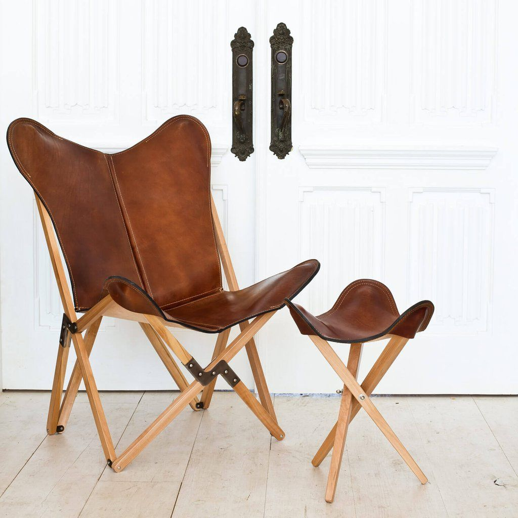 Leather Sling Chair Handcrafted Butterfly Chairs The Citizenry Leather Sling Chair Butterfly Chair Tripolina Chair