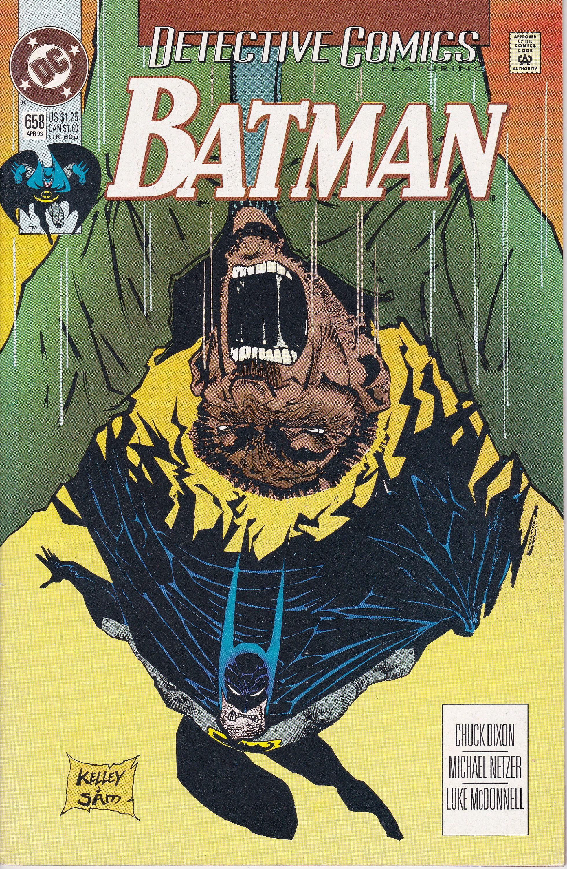 Detective Comics 658 1937 1st Series April 1993 Dc Comics Etsy In 2020 Detective Comics Comics Batman Comic Books