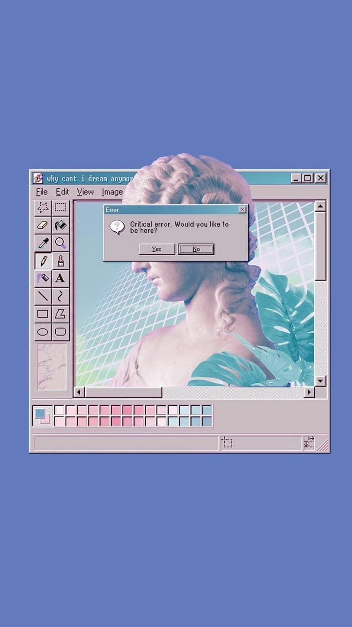Wallpaper. App Vaporwave Wallpapers *créditos a quien lo