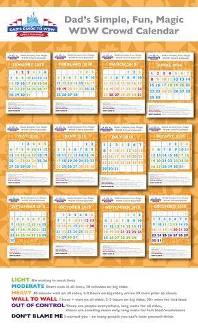 Dads Crowd Calendar 2022.Disney World Crowd Calendars For 2021 Start Planning Here Disney World Crowd Calendar Disney Crowd Calendar Disney Crowds