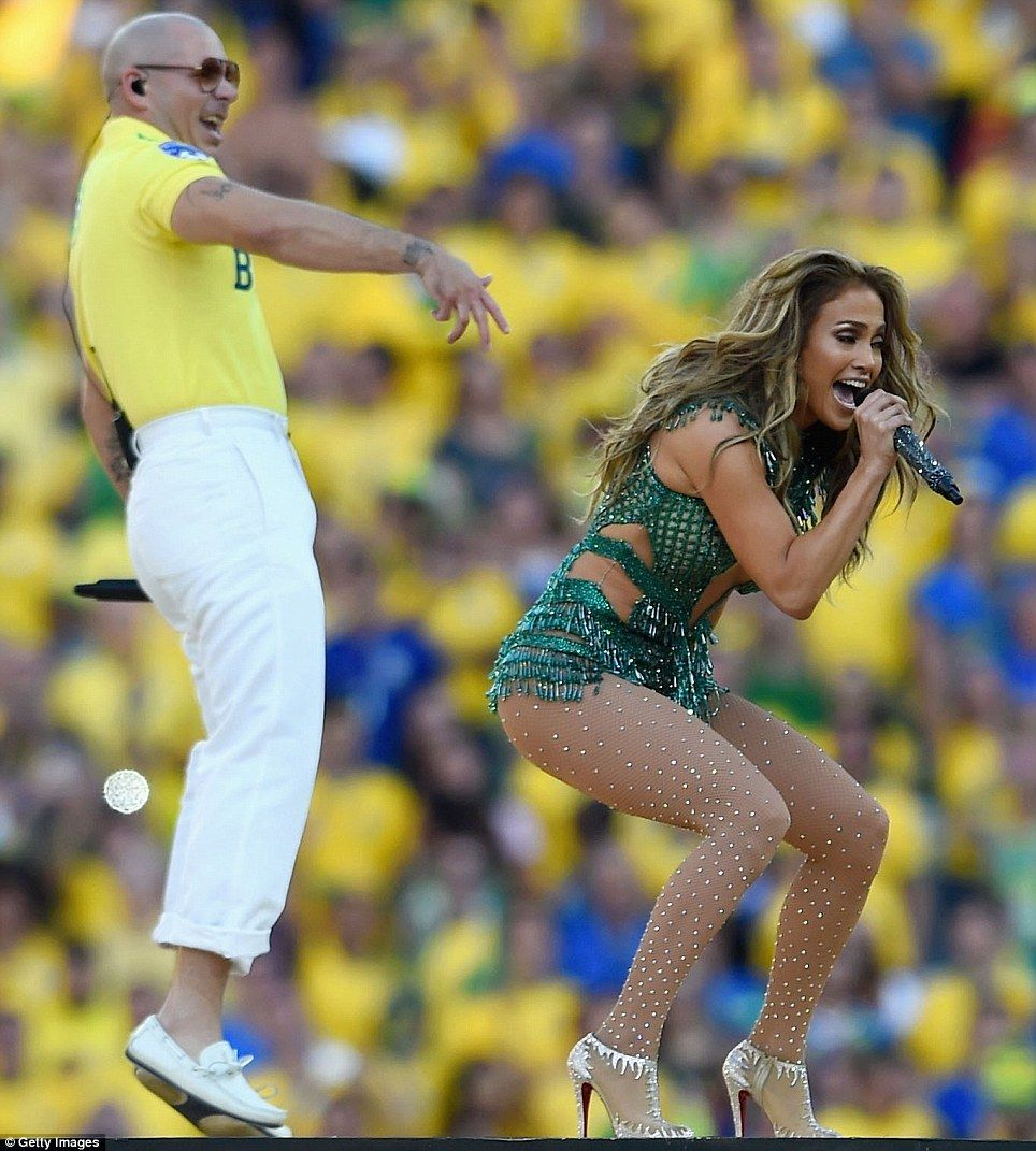 Jennifer Lopez Performs at the 2014 FIFA World Cup Brazil