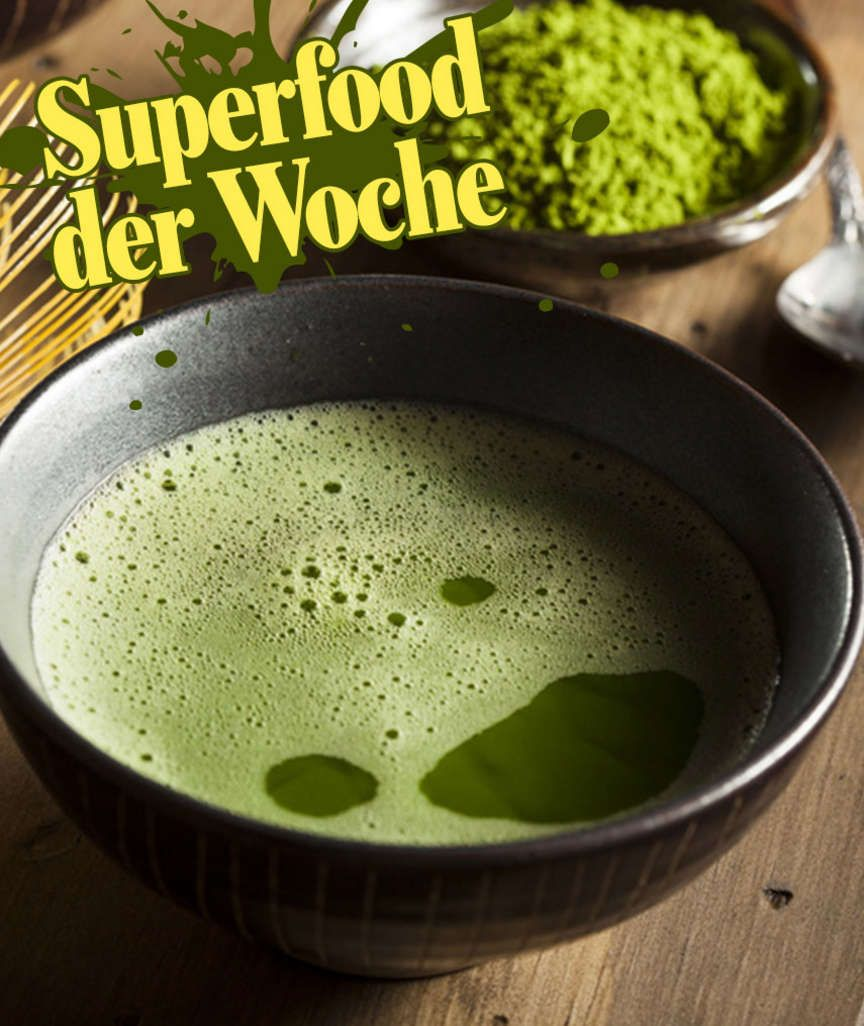 SUPERFOOD DER WOCHE Schützt Matcha wirklich vor Krebs und Extrapfunden? Der Wundertee im Experten-Check