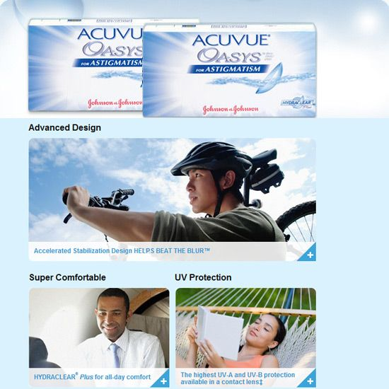 Acuvue Oasys With Hydraclear Plus Contact Lenses Buy Contact