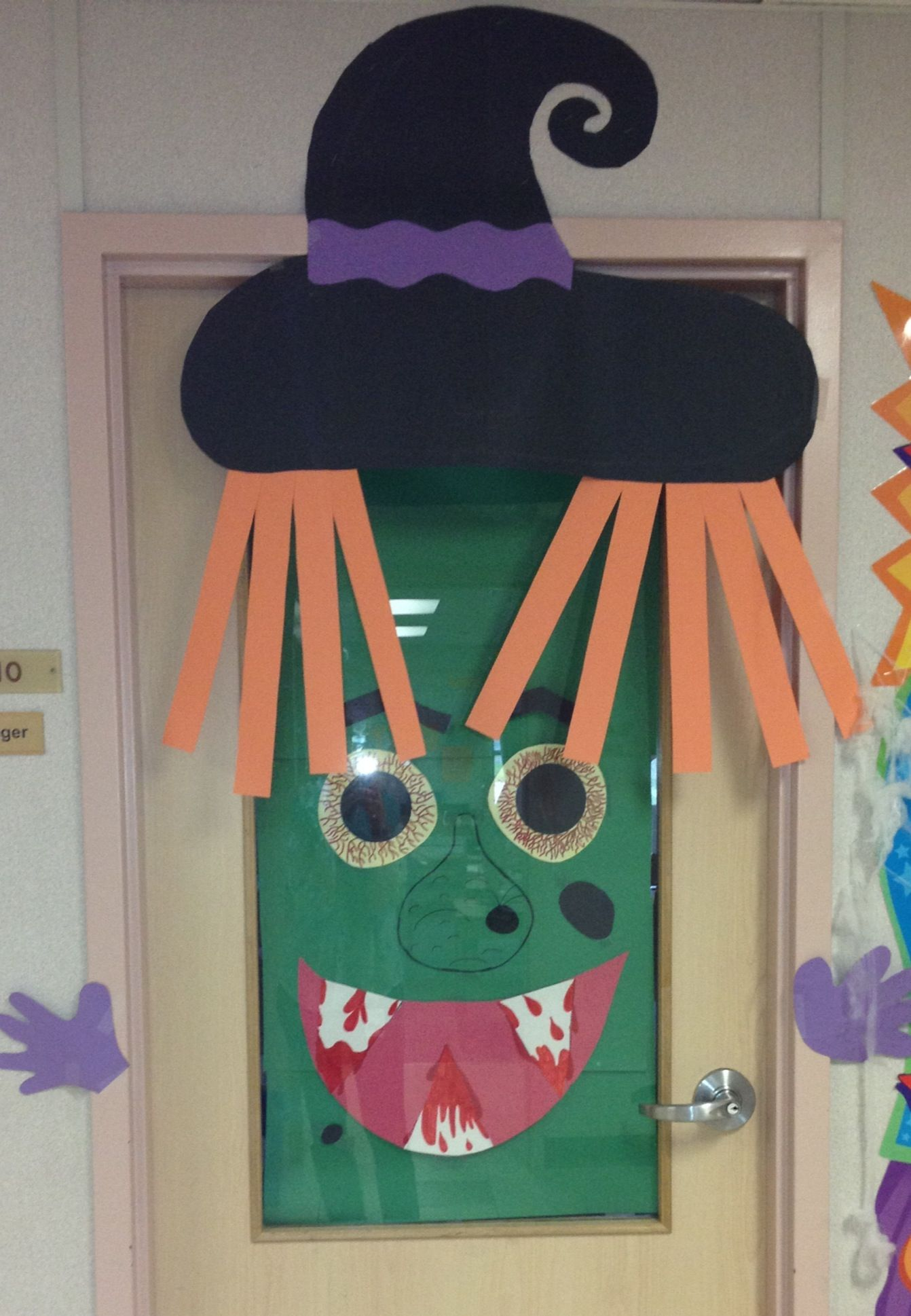 Halloween Door Decorating! Fall School Pinterest Door - Halloween Classroom Door Decorations