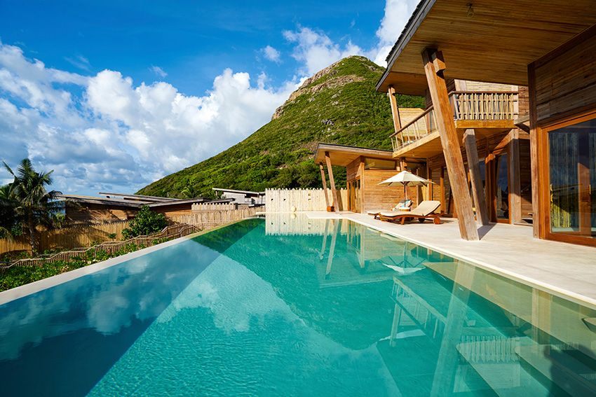 Ocean View Four Bedroom Pool Villa At Six Senses Con Dao Vietnam Http Www Sixsenses Com Resorts Con Dao Accommodation Multi Resort Vietnam Hotels Ocean View