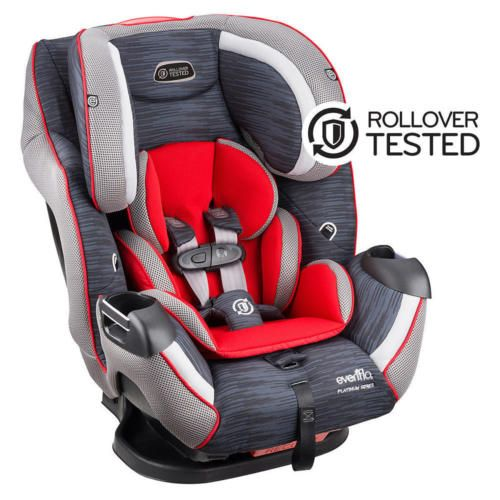 Evenflo Platinum Symphony LX All In One Convertible Car Seat Delmar