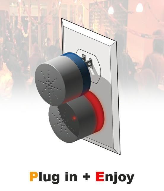 Speaker Plug Will Blast Music Wherever It's Plugged In