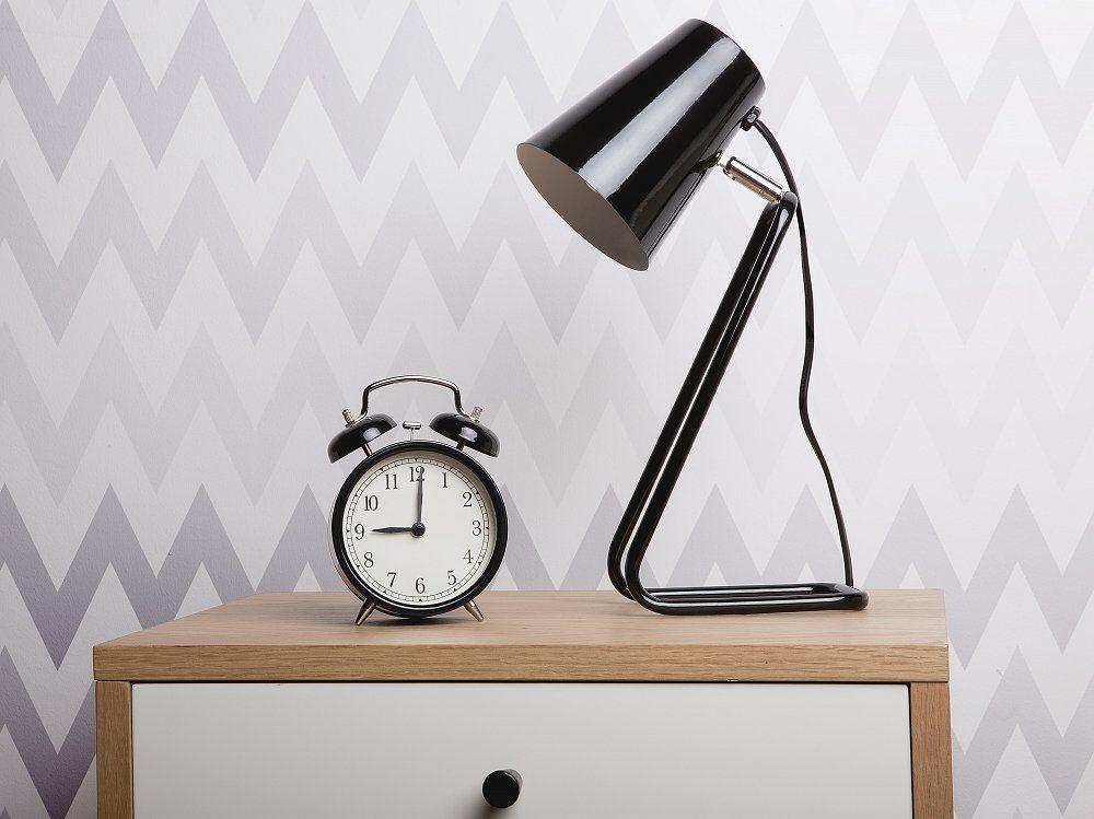 Adjustable Black Metal Desk Lamp Kasai Follow Beliani Uk On Pinterest For More Design Inspirations Blackla Metal Desk Lamps Desk Lamp Adjustable Desk Lamps